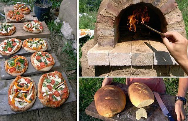 Fabriquer un four à pizza pour 20 \u20ac, c\u0027est possible et le résultat