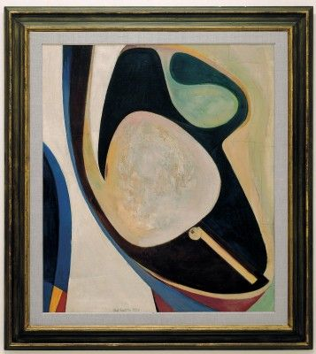 Kurt Schwitters, Untitled (Curving Forms) 1941, Eindhoven, Stedelijk Van Abbe Museum. Schwitters in Britain (30 January - 12 May 2013)  Tate...