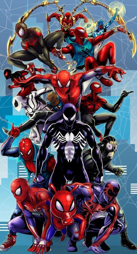 Wallpapers Fondos De Pantalla Spiderman Para Celular 4k Y Hd Trajes De Spiderman Fondo De Pantalla De Iron Man Amazing Spiderman