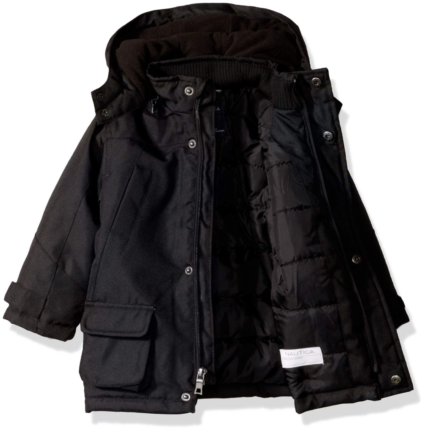 Nautica Baby Boys Heavyweight Snorkel Jacket With Storm Cuffs Black 12 Months See This Terrific Product This I Clothes Design Baby Boy Baby Shower Gifts [ 1810 x 1783 Pixel ]
