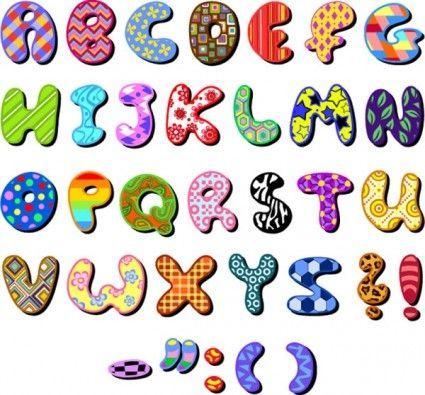 letras bonitas para imprimir | letras | Pinterest | Colores