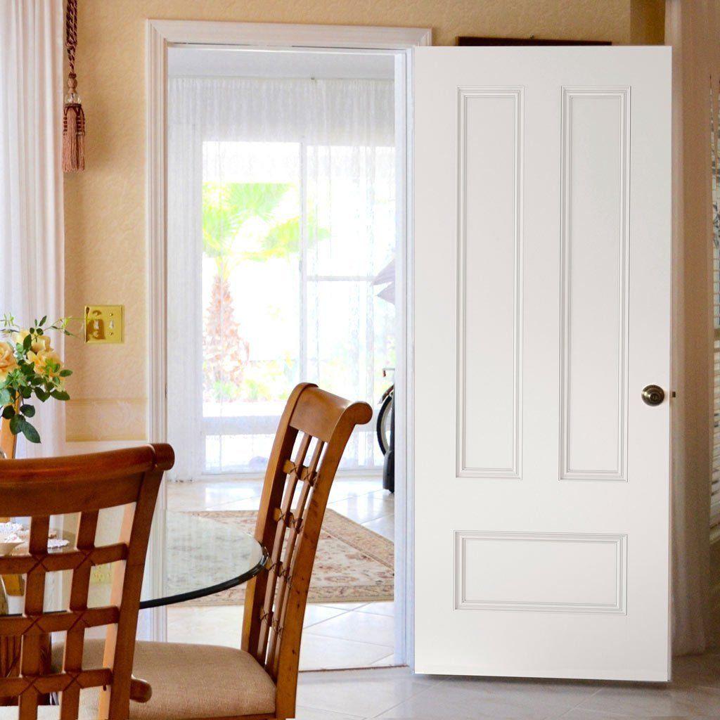 Canterbury White Primed Fire Door 1 2 Hour Fire Rated With Images Internal Doors Primed Doors Fire Doors