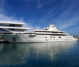 Al-Said; launch in 2007, Al Said was the world's second largest yacht. But since the elite must outdo one another, it's now the fourth. Custom built in Germany, the yacht's owner, Sultan Qaboos bin Said, bought it for $300 million.