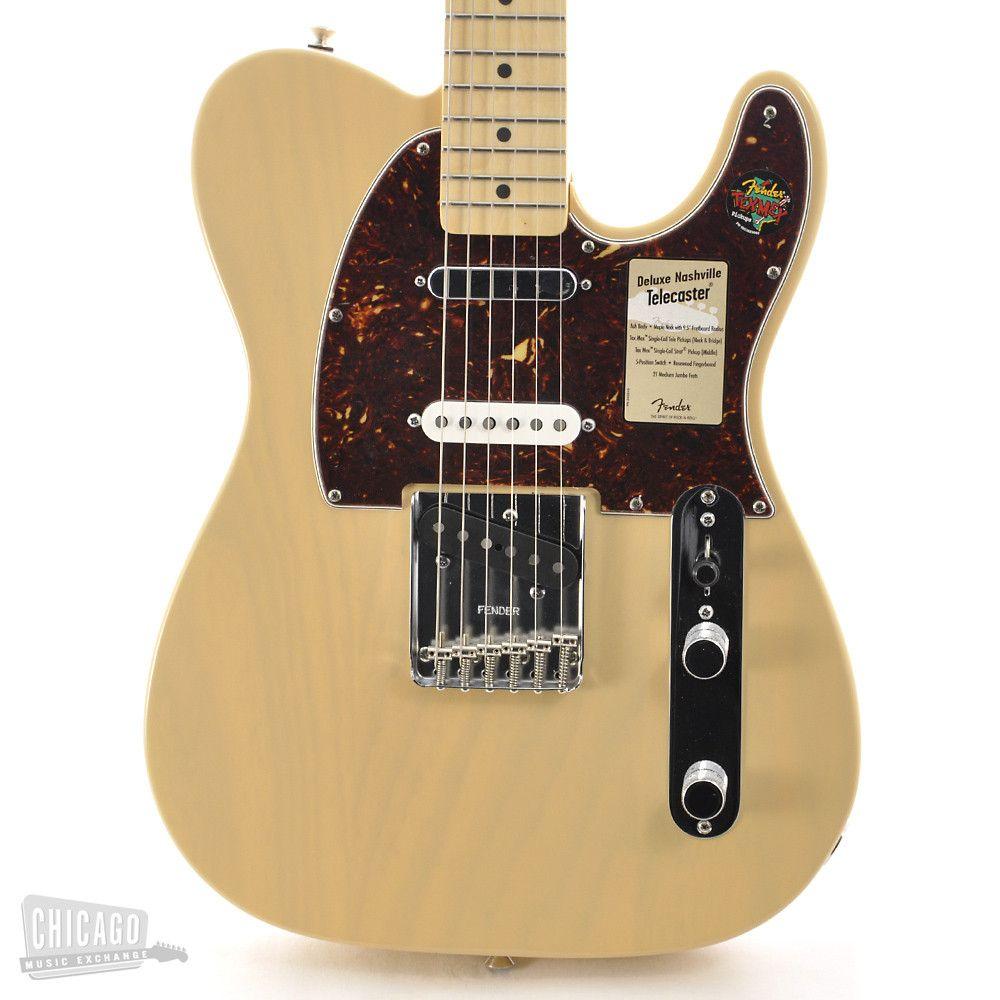 Just Arrived Telecaster Fender Deluxe Nashville