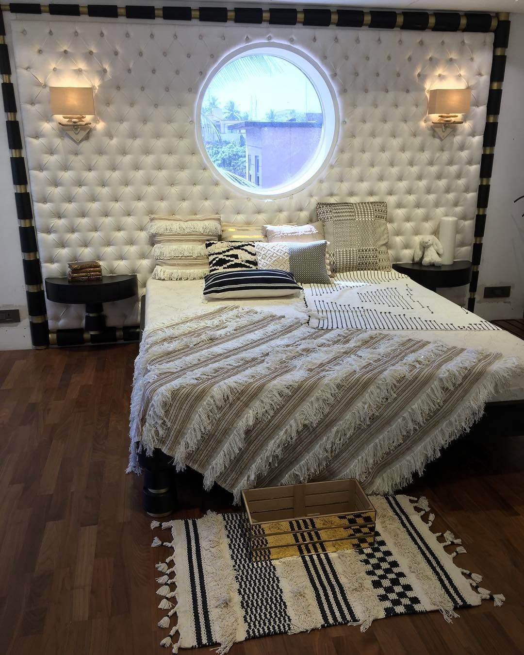 Decor Bed Cushions Throws Walllights By Gaurikhan Bed Cushions