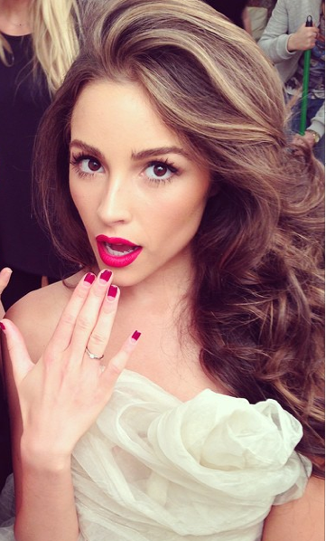 Photo of olivia culpo – notice the delicate hands