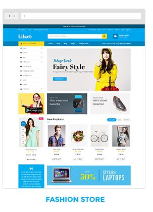 Lilac Fashion Responsive WordPress Woocommerce Theme Themes Plugin Blogger Business