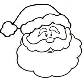 Santa Face Santa Face Christmas Coloring Pages Christmas Coloring Sheets