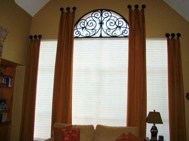 Half Round Window Treatments Designs Patio Door