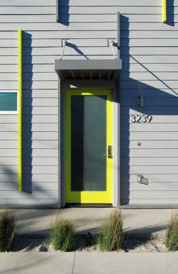 I want a neon door!!