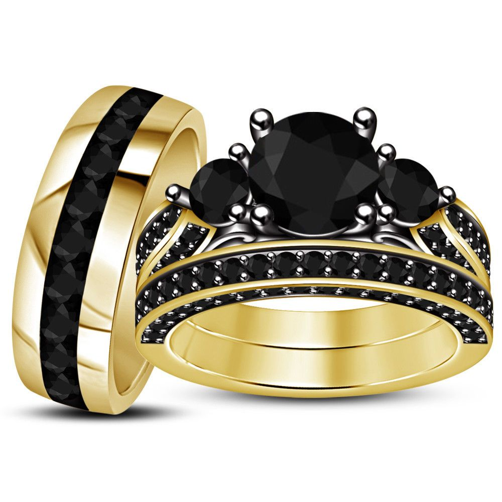 26+ Yellow gold wedding rings for her ideas in 2021