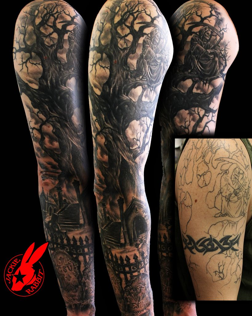 Tree root tattoo sleeve google search tattoos for Tattoo cover sleeves