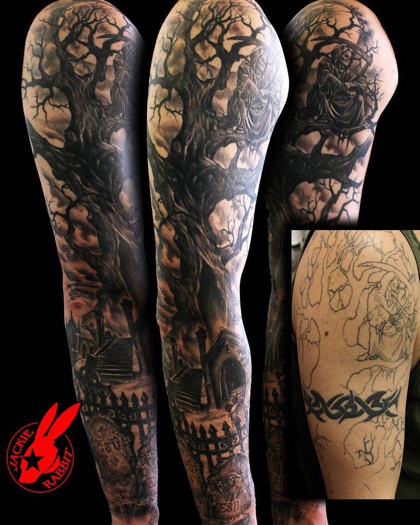 Tree Root Tattoo Sleeve Google Search Tree Sleeve Tattoo Tree Sleeve Half Sleeve Tattoos For Guys