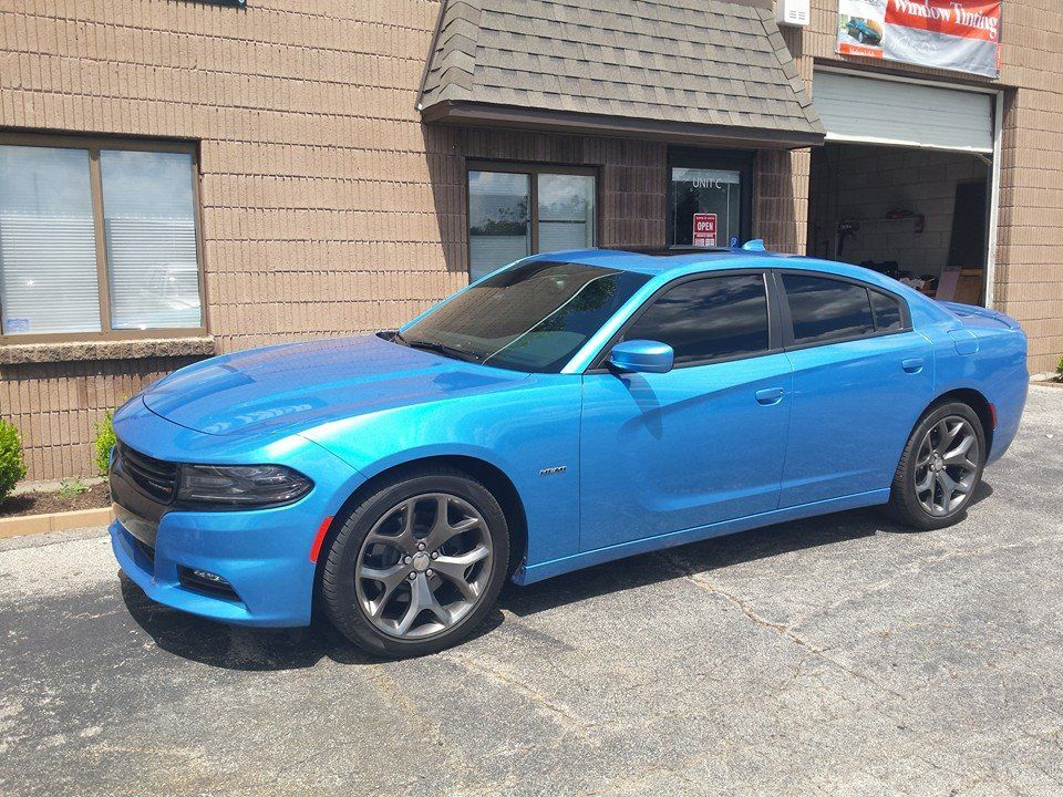 Charger with 15 with images tinted windows tints