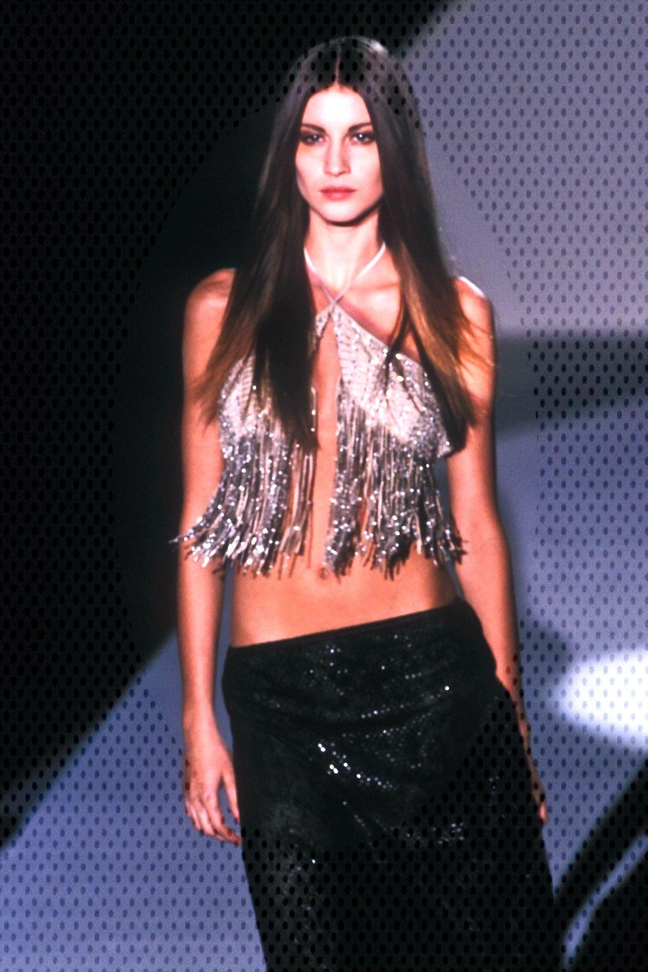 Gisele Bundchen atGucci S/S 1999 -