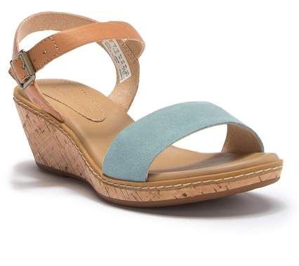Timberland | Whittier Leather Cork Wedge Sandal | Products