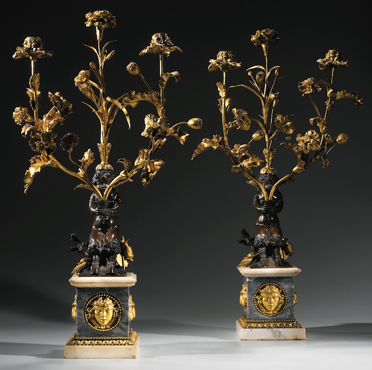The gilding of perfection the work of Pierre Gouthière