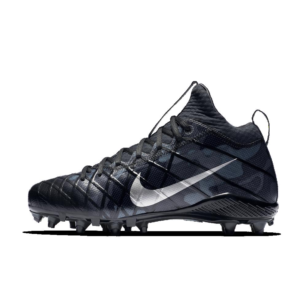 5cc4bdb3b4c0 Nike Alpha Field General Elite Camo Men s Football Cleat Size 10.5 (Black)  - Clearance Sale