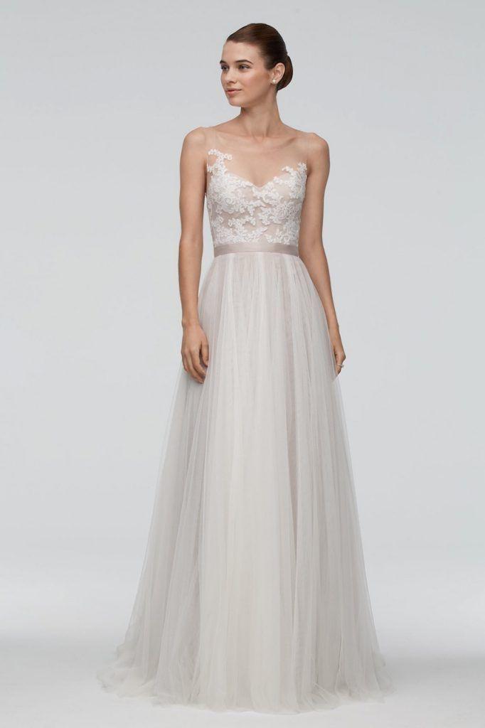 romatisches brautkleid - transparent | Hochzeitskleider ...