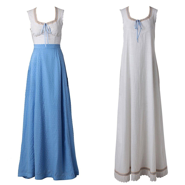 fe9d246b49c90 Amazon.com: CosplayDiy Women's Dress Sets for Westworld Dolores ...