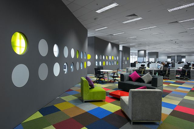 Creative Office Design By M Moser Associates Office