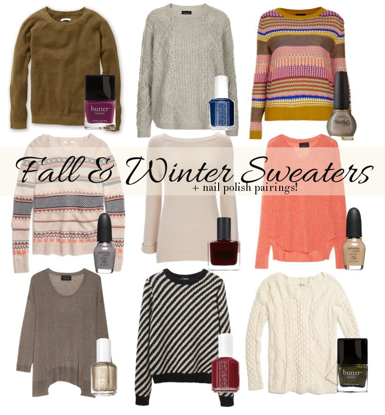 Fall and Winter Sweaters | My Style | Pinterest | Winter, Fall ...