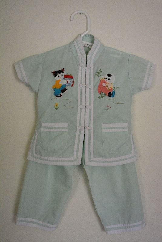 Sold Chinese Pajamas Isla Pajamas Baby Nightgown