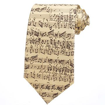 Look what I found at UncommonGoods: Bach By Bach Tie for $49.00