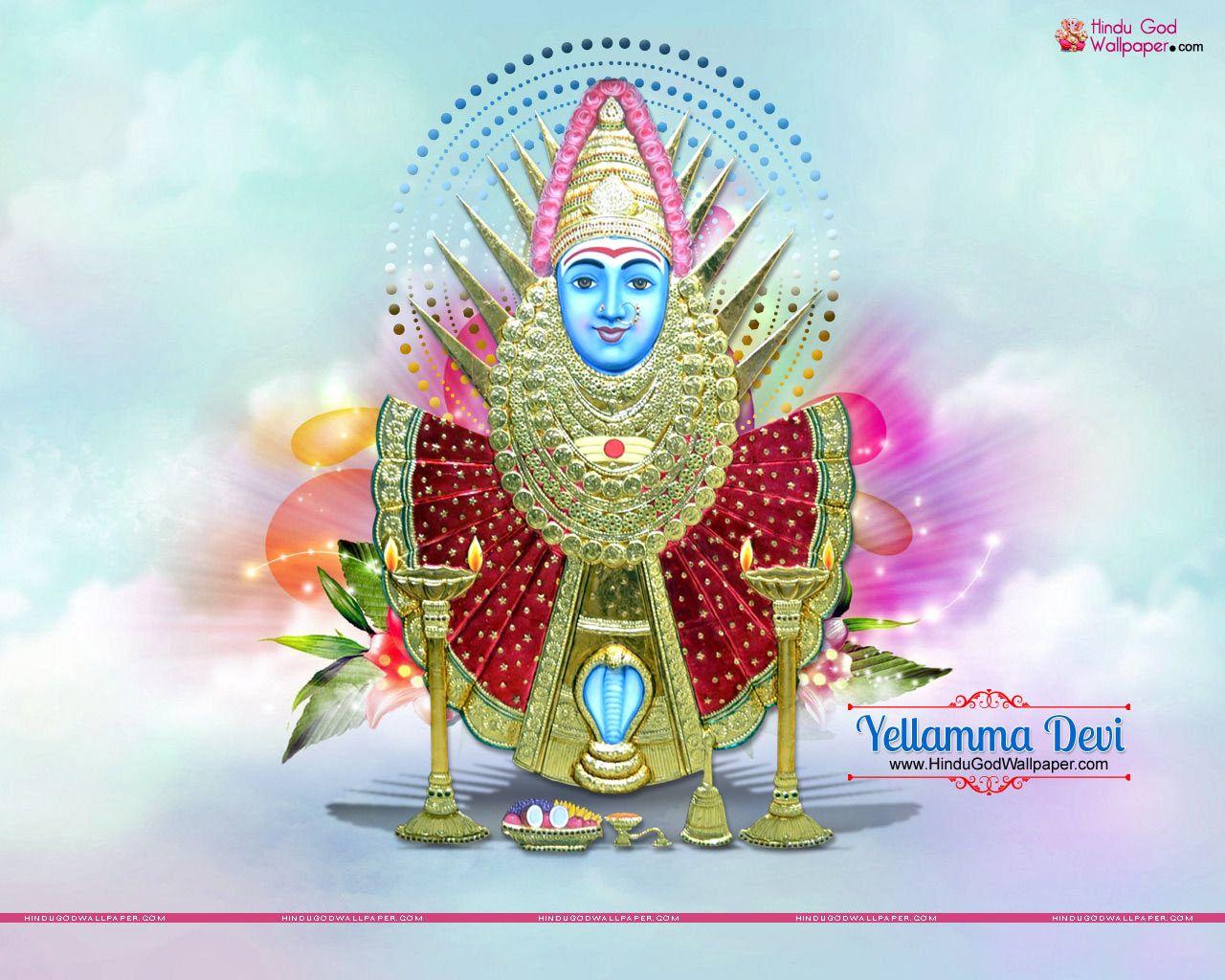 Goddess Renuka Devi Yellamma Wallpaper Free Download Renuka Devi