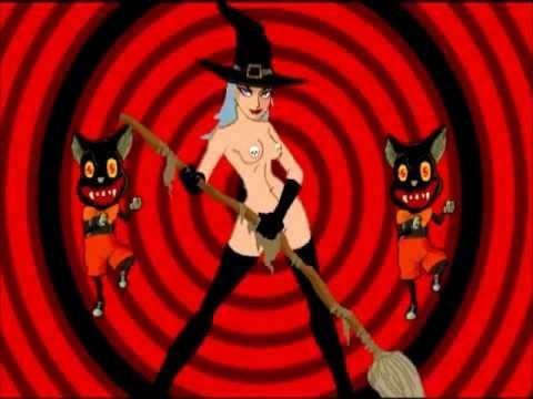 halloween music rob zombie american witch animated - Rob Zombie Halloween Music
