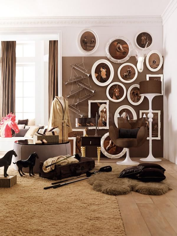 Horse Themed Bedroom Decorating Ideas Part - 24: Saddle Up For Some Equestrian Stylingu2026. Horse Themed BedroomsHorse ...
