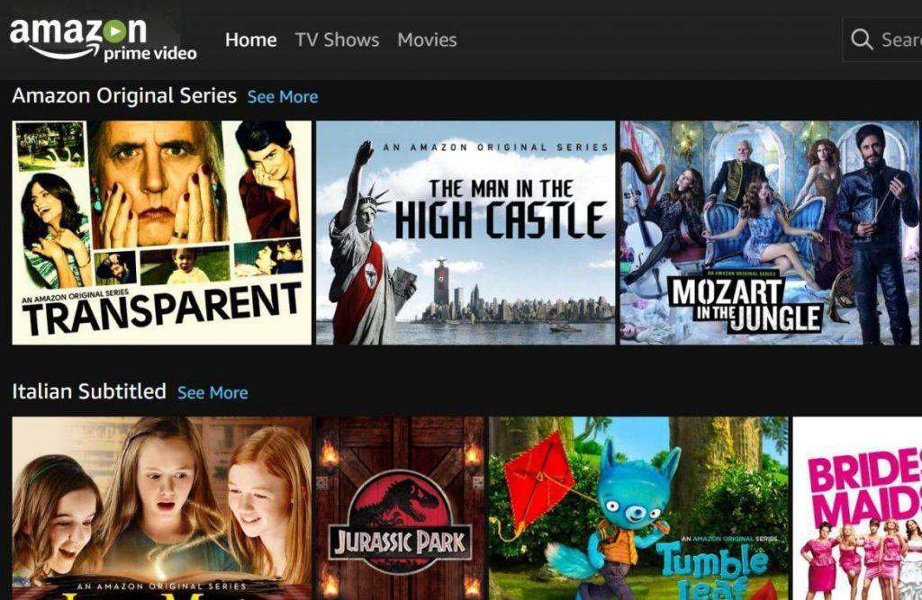 Amazon, Prime video è attivo in Italia e gratuito per i