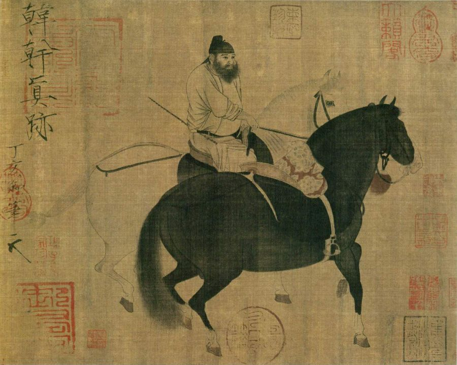 Han Gan: Two Horses and a Groom