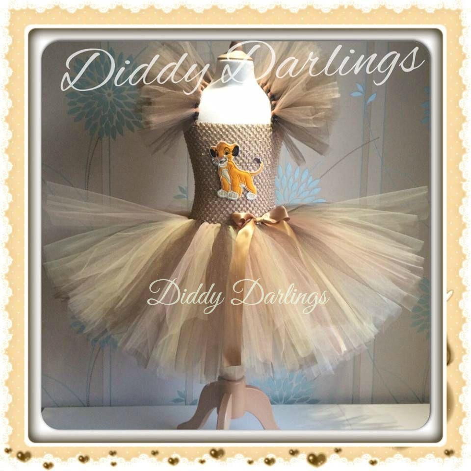 New Lion King Tutu Dress Costume Party Fancy Halloween Xmas & Play Simba Dress #DiddyDarlings #CasualFormalParty