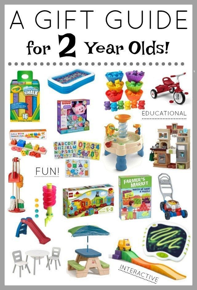 Ultimate 2 Year Old Gift Guide   2 year old gifts ...