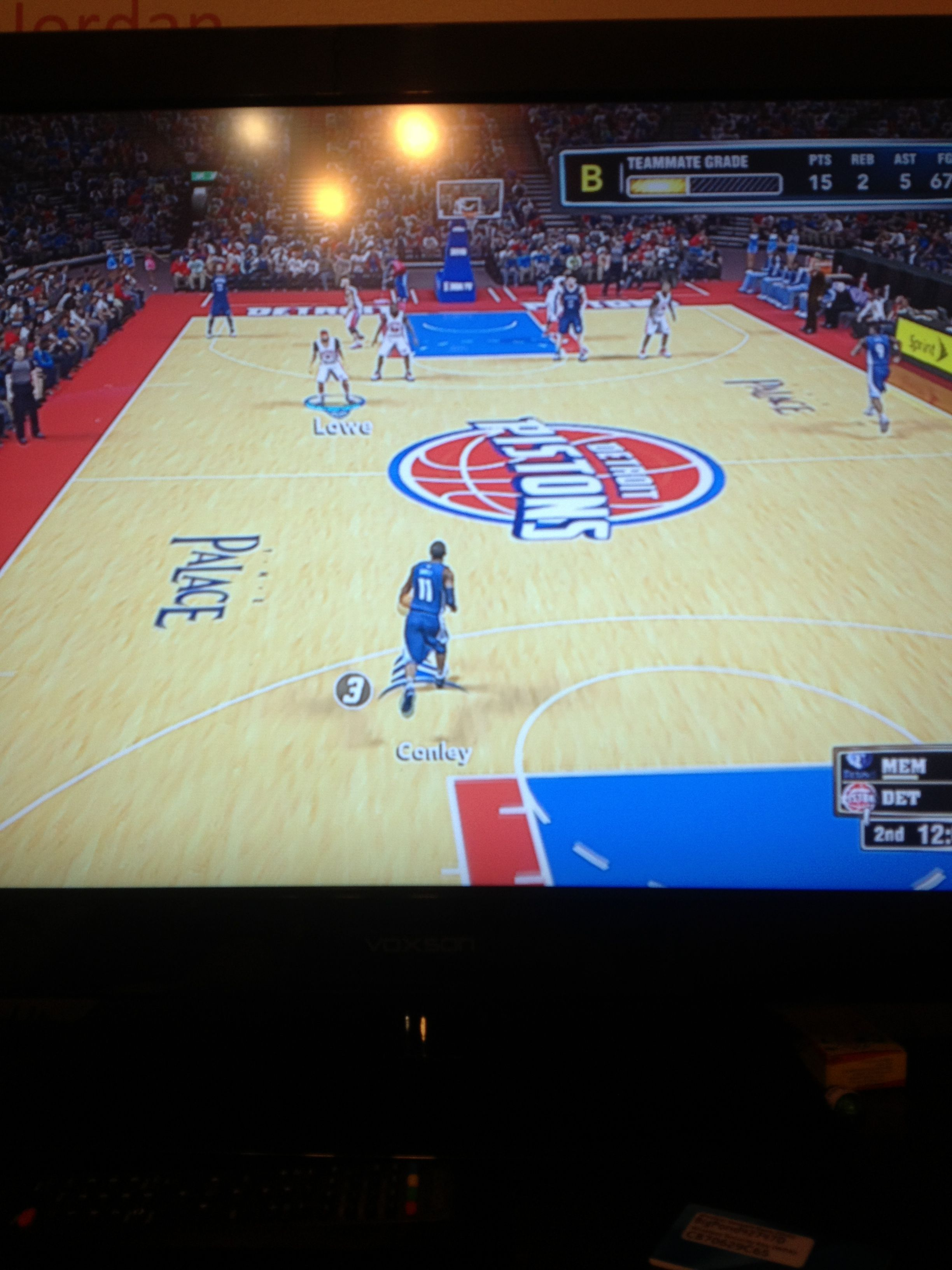 playing nba 2k13 before footy