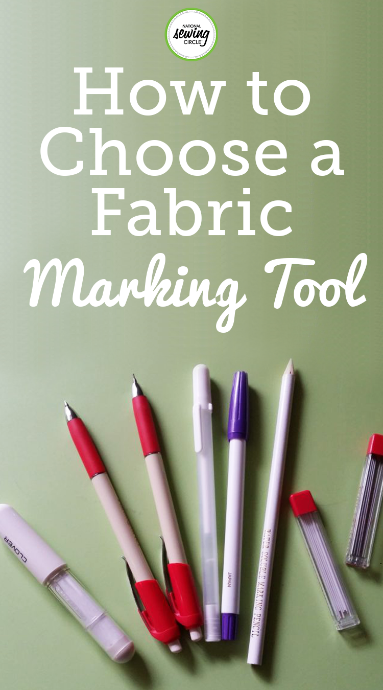 How To Choose A Fabric Marking Tool National Quilters Circle Sewing Circles Marking Tools Sewing Equipment