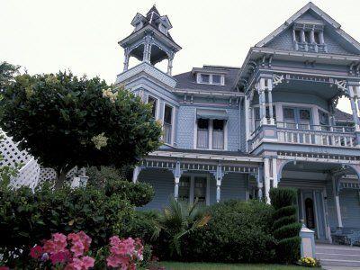 edwards victorian mansion redlands california usa photographic rh pinterest com au