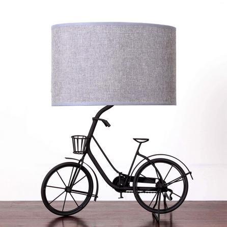 Jasper Metal Bicycle Lamp Bicycle Decor Bicycle Lamp