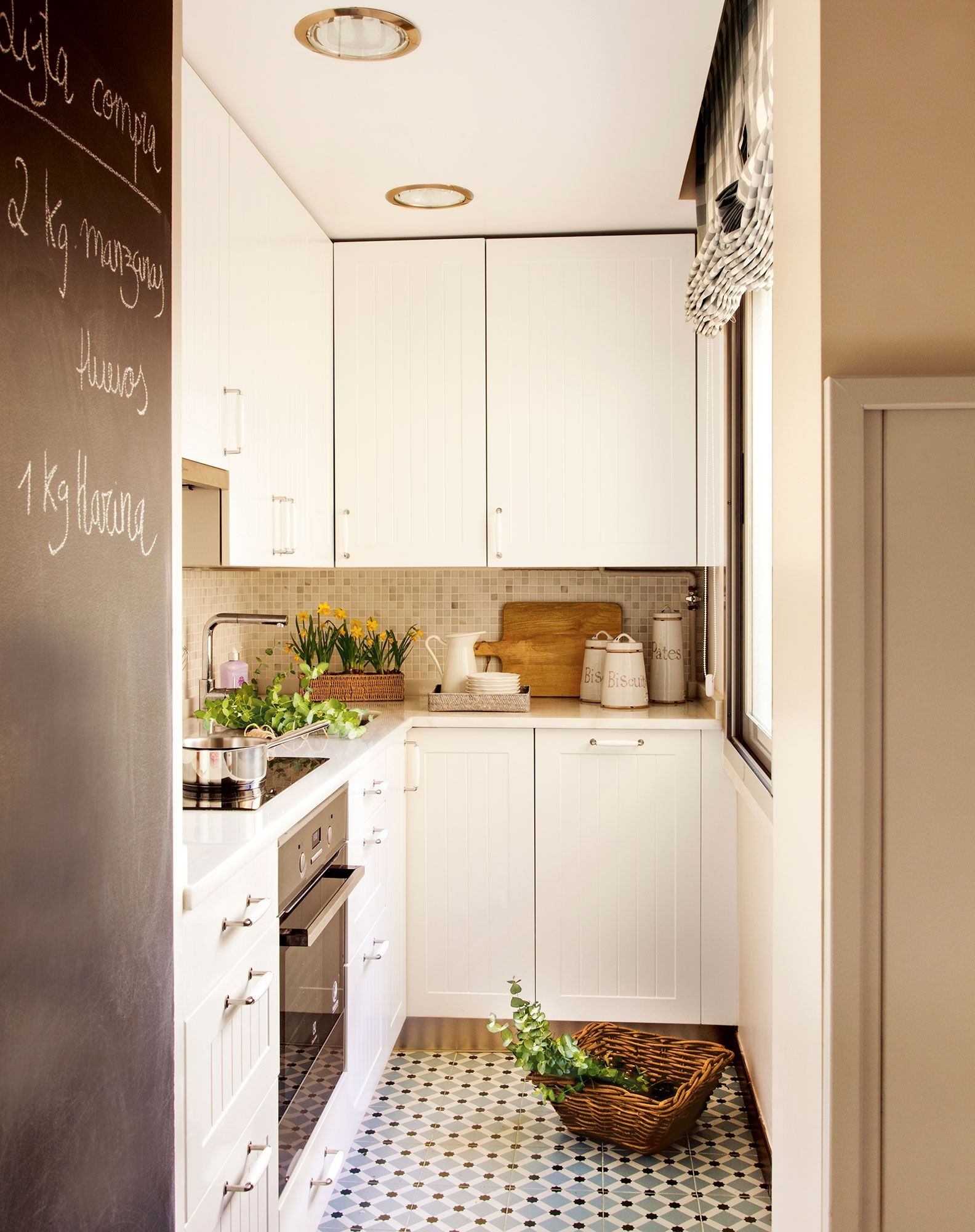Ideas para aprovechar el espacio en las cocinas pequeñas | cocina ...