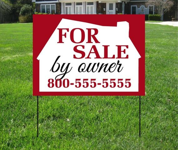 By Owner Yard Signs Event Sign