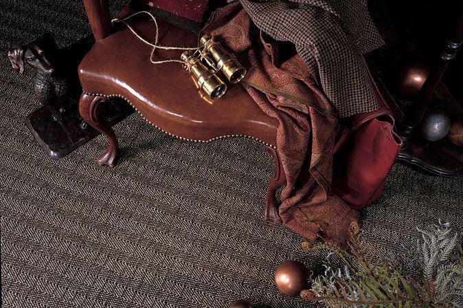 Cut Amp Loop Woven Kara Loc In Berwick Tweed Carpet By