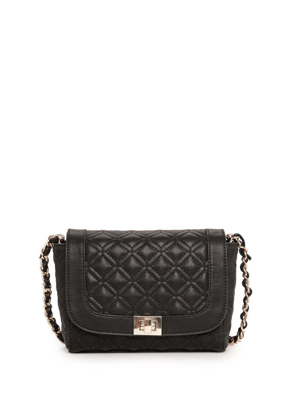 Quilted cross-body bag - Women