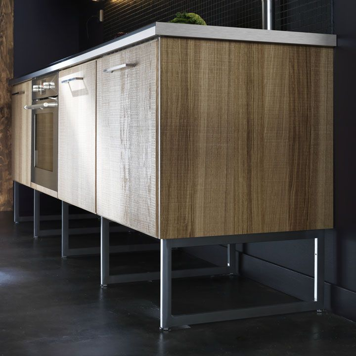 Ikea metod aka sektion cabinets plus legs legs for Kitchen units with legs