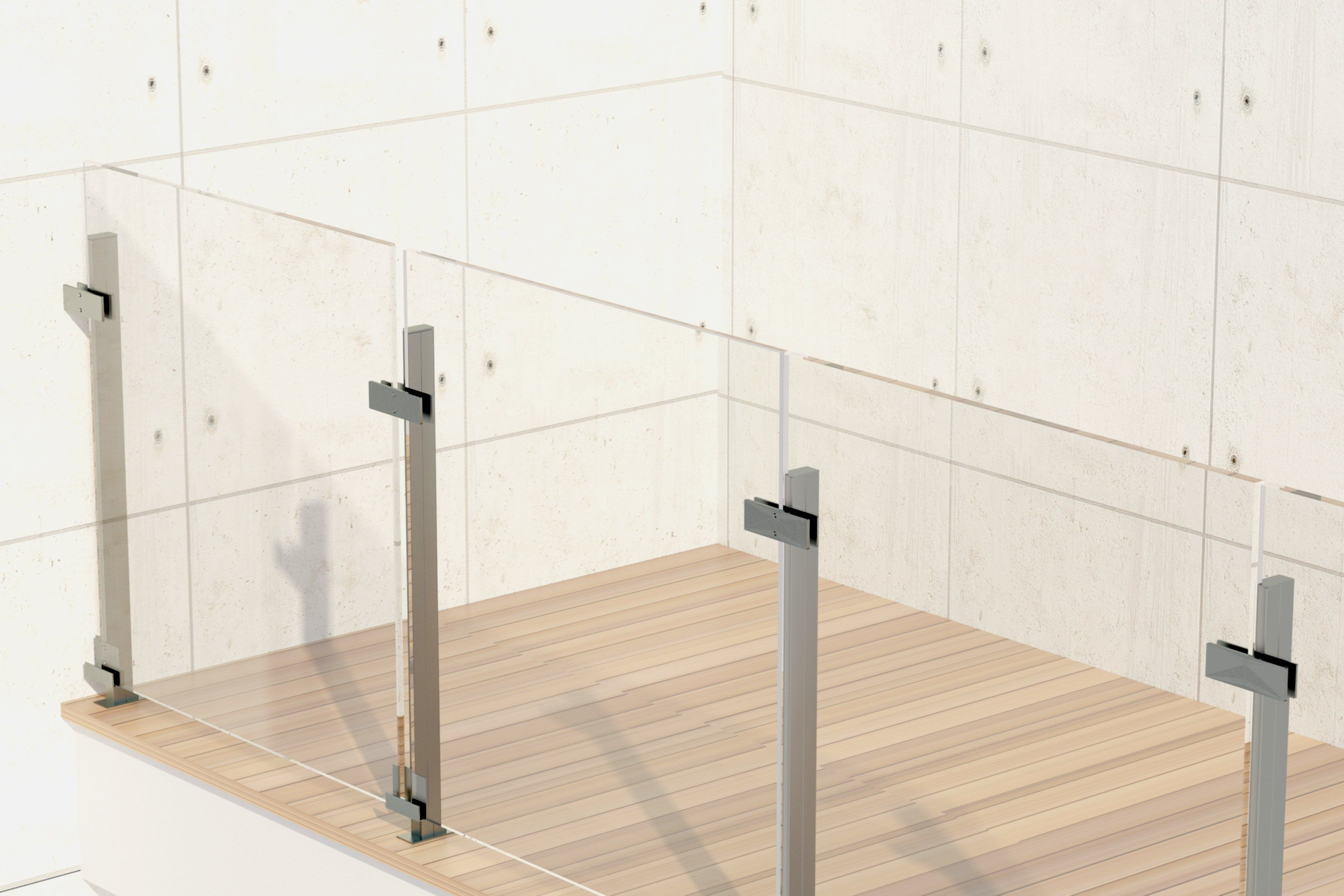 Resultado de imagen para barandas para balcones de vidrio   barandas ...
