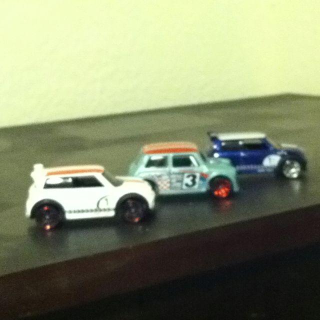 Mini Mini Coopers!