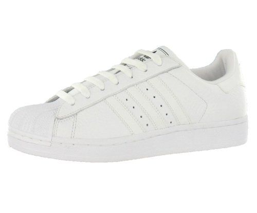 NEW Adidas Originals Superstar ll Sneaker Low Top White Leather Retro Shoe 8M