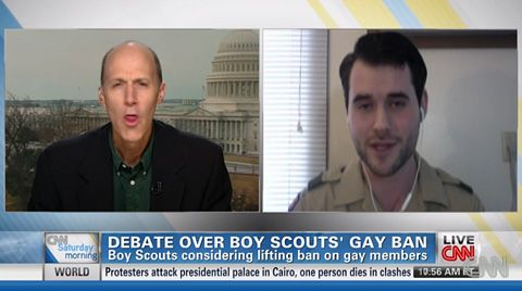 Let's Watch Zach Wahls Smack Down a Homophobic Bigot Over the Boy Scouts' Gay Ban: VIDEO| News | Towleroad