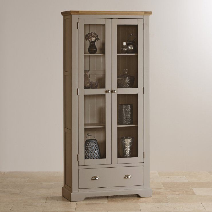 The Glazed St Ives Display Cabinet Has Four Shelves, Perfect For Exhibiting  Your Precious Glass And Crockery While Keeping Them Secure.