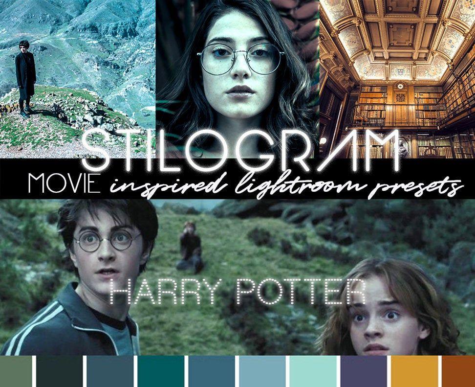 Harry Potter Inspired Presets For Lightroom Mobile Magical Etsy Presets Lightroom Instagram Filter
